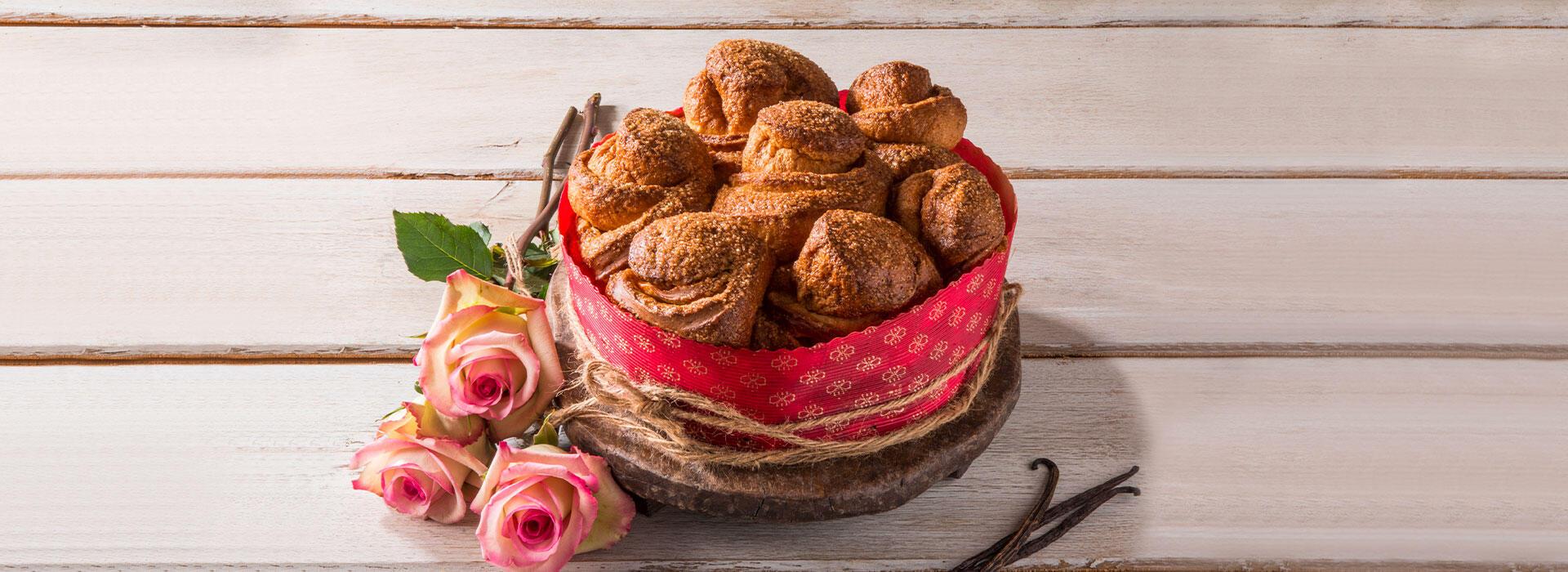 San Valentino con la Torta di Rose